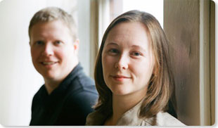 James Sherrett and Monique Trottier, co-founders of Boxcar Marketing. Vancouver Internet Marketing Specialists.