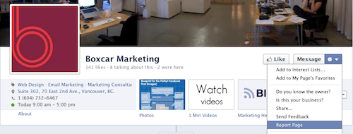 How to report a duplicate or categorized Facebook Page